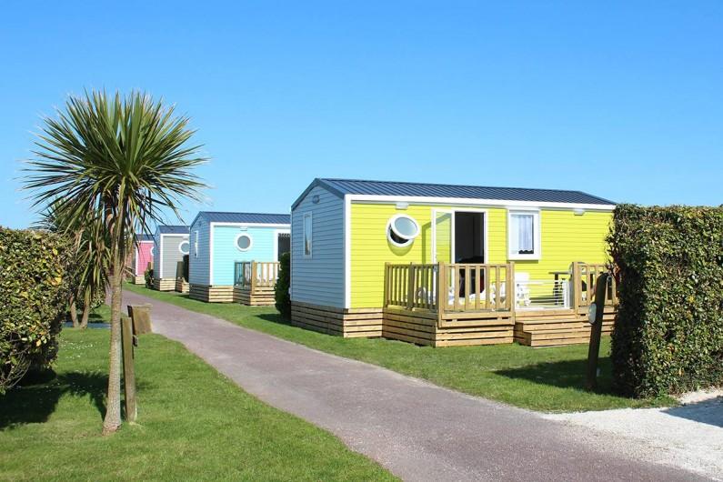 Location de vacances - Bungalow - Mobilhome à Ravenoville Plage - Mobil home Relaxe Family 2 chambres