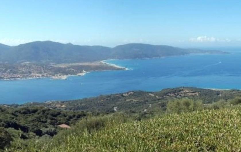 Location de vacances - Villa à Olmeto - Aperçu de la vue panoramique