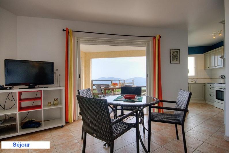 Location de vacances - Villa à Olmeto - Séjour