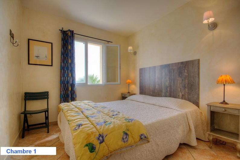 Location de vacances - Villa à Olmeto - Chambre 1 Lit Queen Size