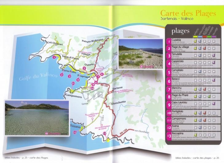 Location de vacances - Villa à Olmeto - Plages du golfe de Valinco
