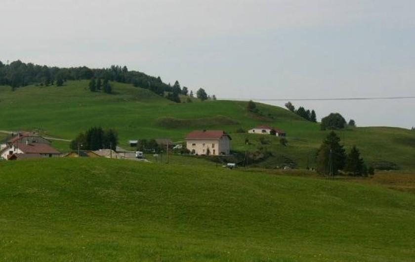 Location de vacances - Appartement à Lajoux - Maison été