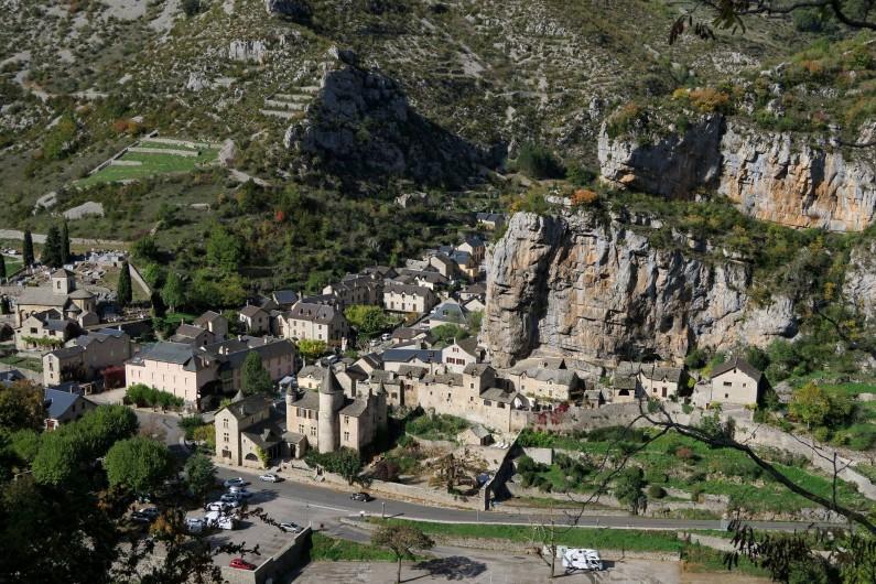 Location de vacances - Gîte à La Malène - Le village de la malene