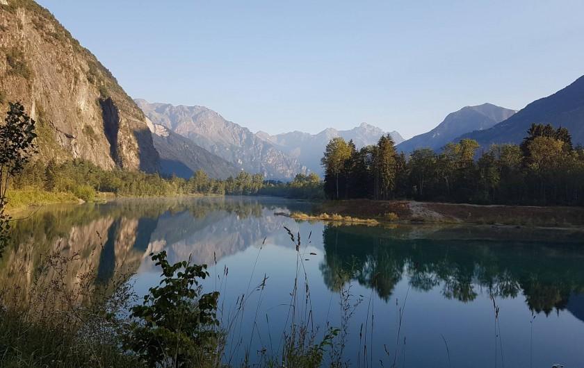 Location de vacances - Maison - Villa à Le Bourg-d'Oisans - Lac Buclet, 10 minute par voiture