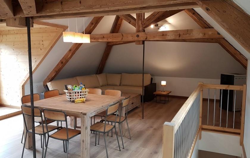 Location de vacances - Maison - Villa à Le Bourg-d'Oisans - Grand piece de vie