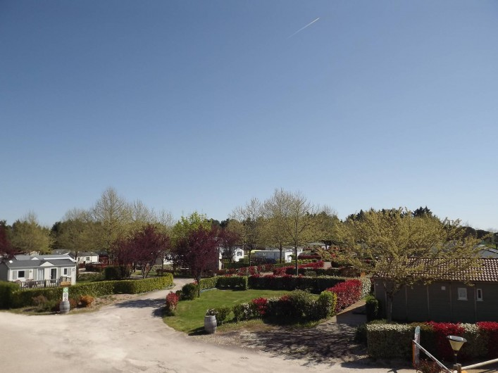 Location de vacances - Camping à Parcoul-Chenaud - Entrée du camping