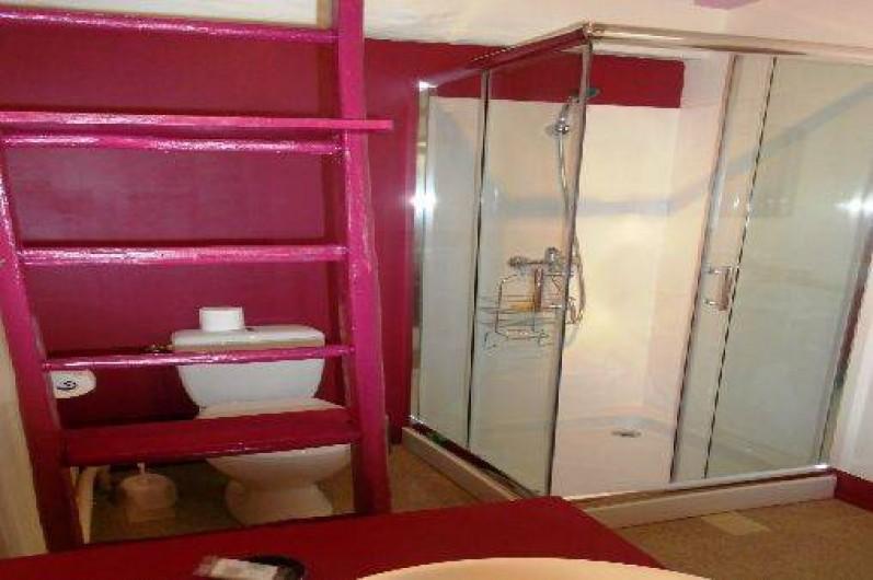 Location de vacances - Gîte à Courcelles - Salle de bain