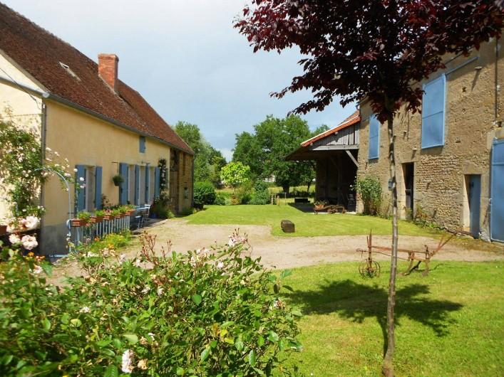 Location de vacances - Gîte à Courcelles - Bienvenue