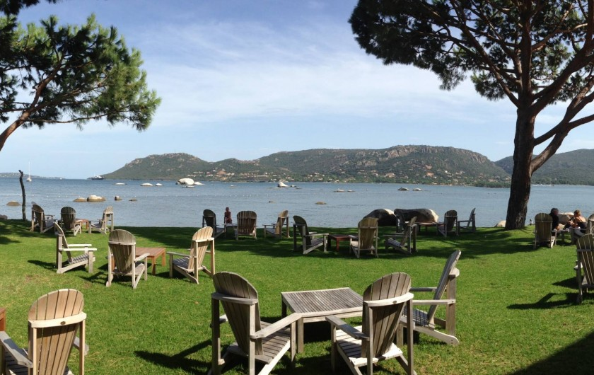 Location de vacances - Villa à Porto-Vecchio - Baie de porto vecchio