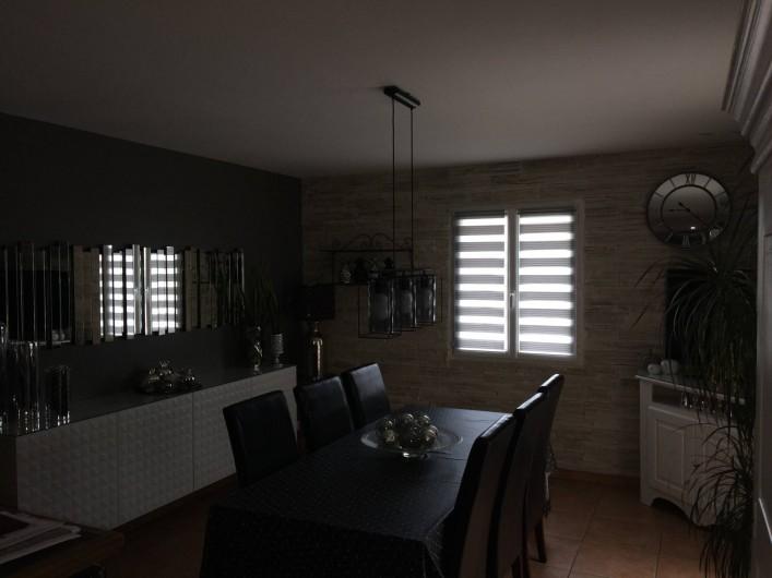 Location de vacances - Villa à Beaucaire - Salle à manger