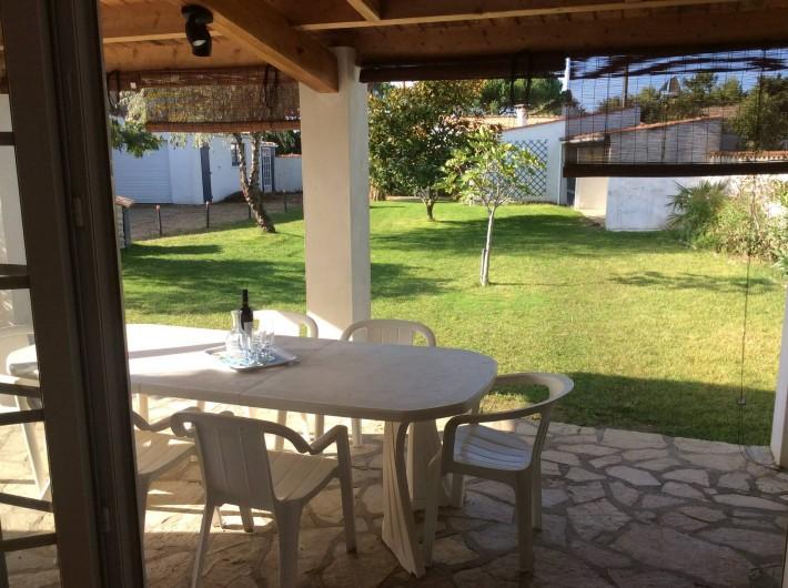 Location de vacances - Maison - Villa à Saint-Pierre-d'Oléron - Grande maison: terrasse