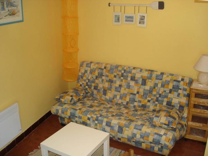 Location de vacances - Maison - Villa à Saint-Pierre-d'Oléron - Petite maison: coin salon