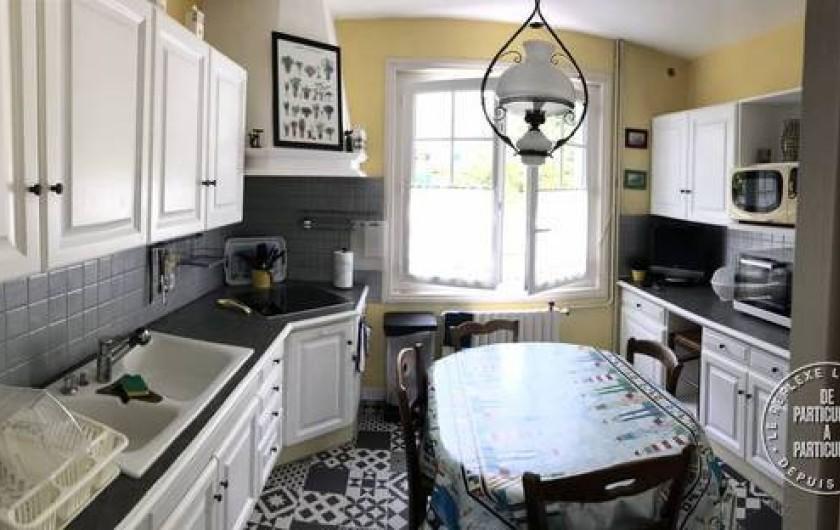 Location de vacances - Maison - Villa à Saint-Pierre-d'Oléron - Grande maison: cuisine