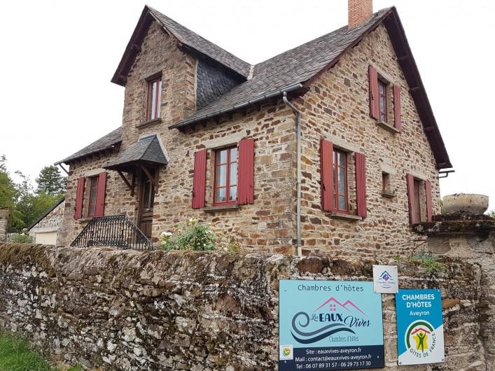 """Location de vacances - Chambre d'hôtes à Sauveterre-de-Rouergue - Maison d'hôtes """"les Eaux Vives"""""""