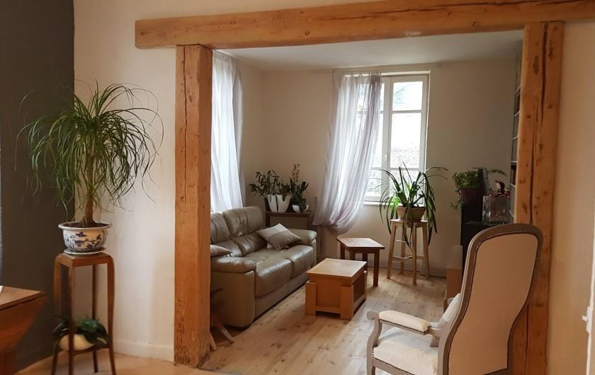 Location de vacances - Chambre d'hôtes à Sauveterre-de-Rouergue - Maison d'hôtes : salon