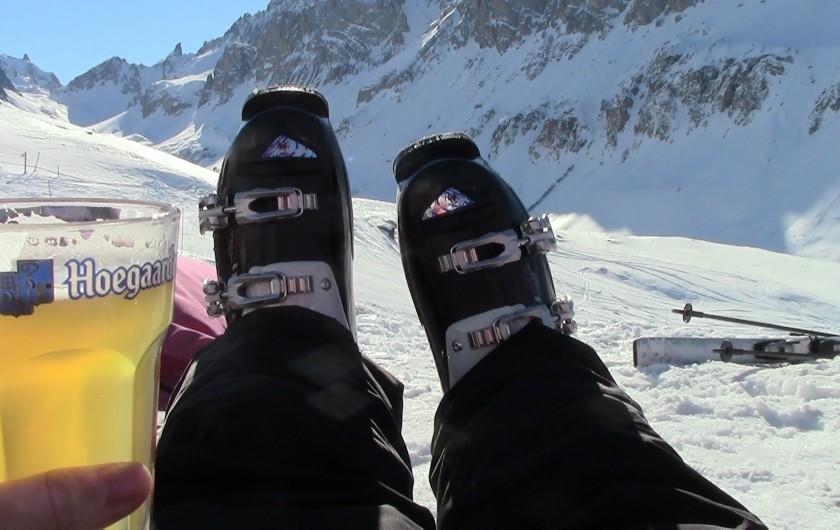 Location de vacances - Appartement à Valloire - en hiver! :)