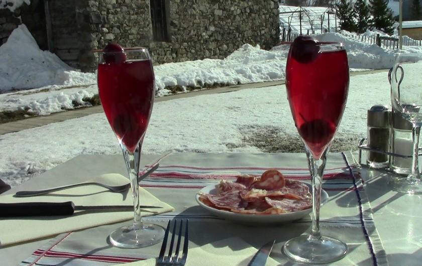 Location de vacances - Appartement à Valloire - hummmm ...  petite pause savoureuse...  La Poutre