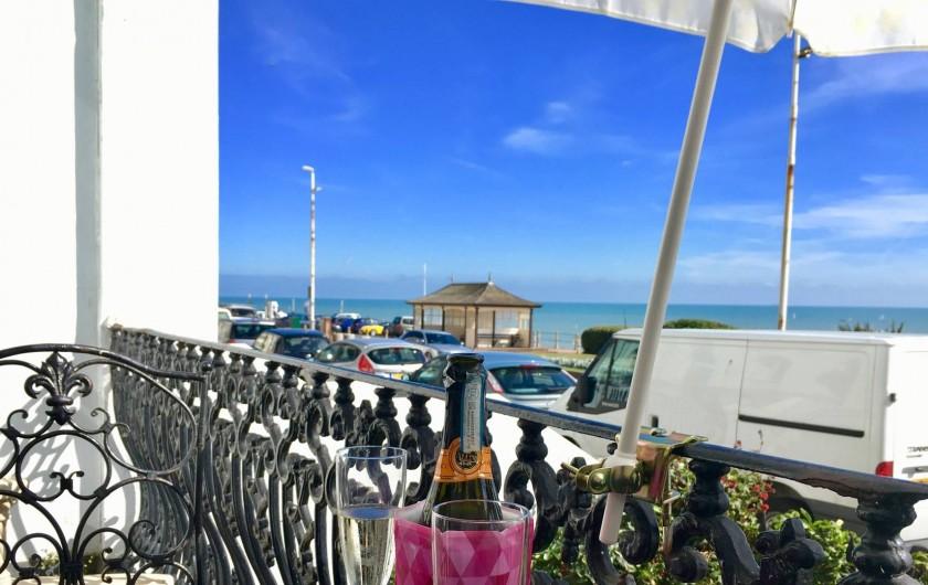 Location de vacances - Appartement à Saint Leonards - Petit Balcon style Roméo et Juliette