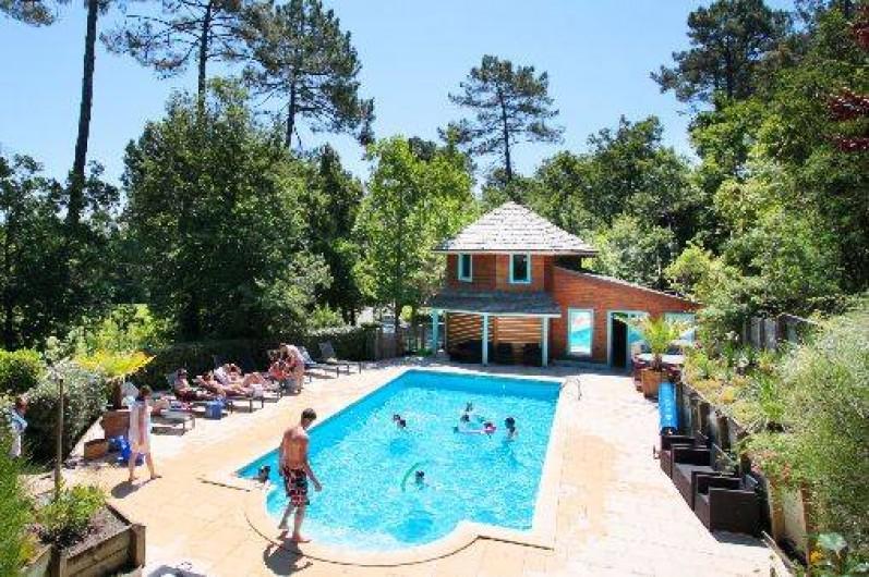 Location de vacances - Chalet à Messanges - Piscine