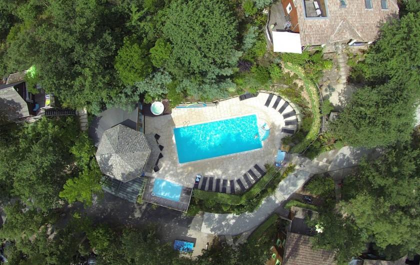Location de vacances - Chalet à Messanges - Vue de haut