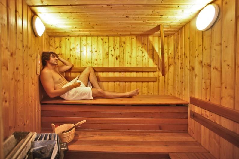 Location de vacances - Chalet à Messanges - Sauna