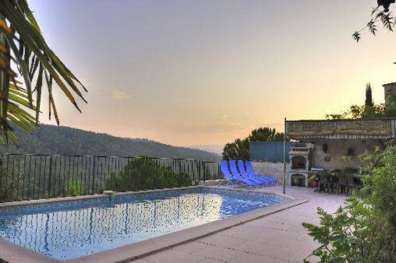 Chambre d 39 h tes les adrets vins sur caramy en provence - Chambre d hotes var avec piscine ...