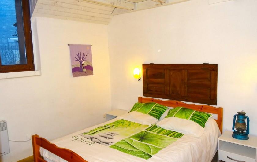 Location de vacances - Gîte à Le Pont-de-Montvert - chambre double