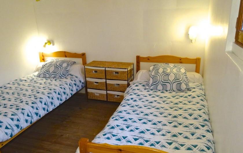 Location de vacances - Gîte à Le Pont-de-Montvert - chambre 2 lits