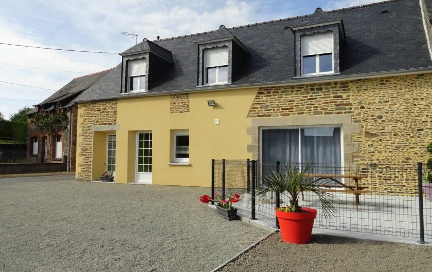 Location de vacances - Maison - Villa à Vessey - façade