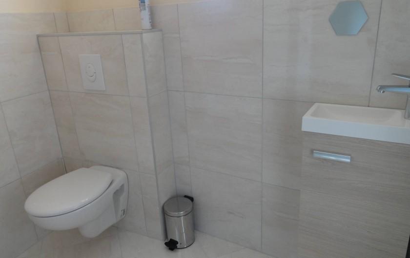 Location de vacances - Maison - Villa à Vessey - WC rdc