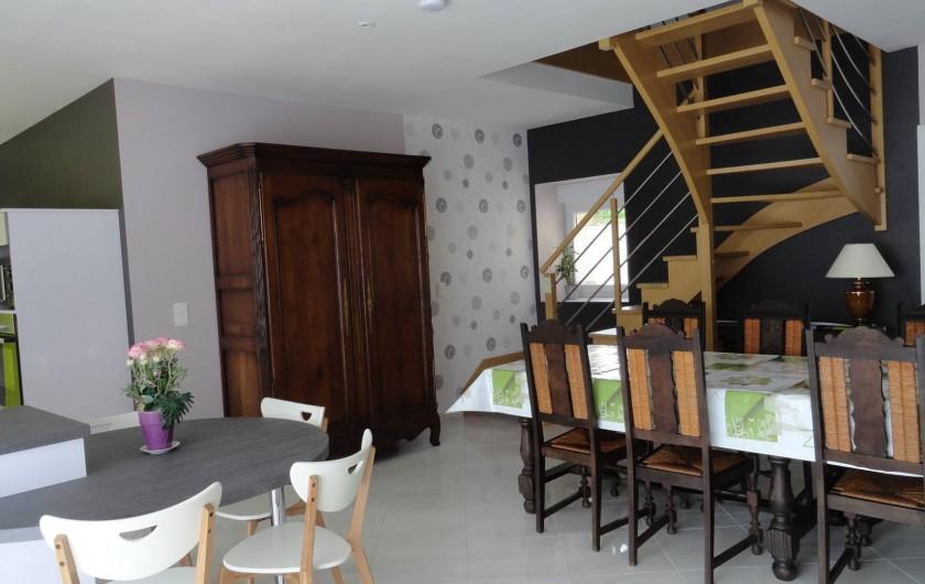 Location de vacances - Maison - Villa à Vessey - pièce principale