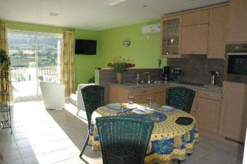 Location de vacances - Appartement à Vallon-Pont-d'Arc