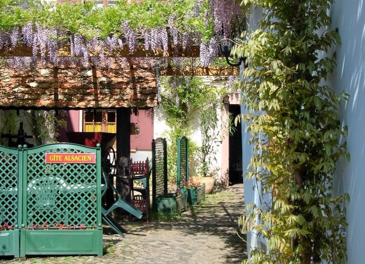 Location de vacances - Gîte à Ribeauville - Le Gîte, idéalement situé dans le quartier historique de Ribeauvillé