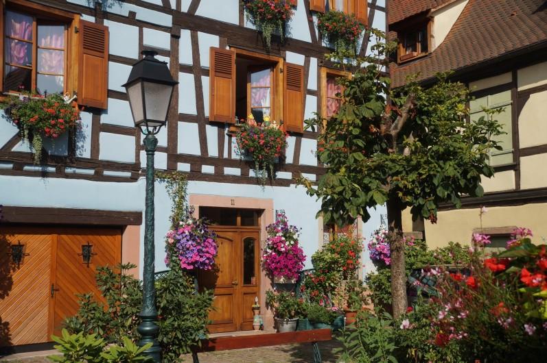 Location de vacances - Gîte à Ribeauville - Découvrir Ribeauvillé, l'incontournable cité des Ménétriers, en Alsace