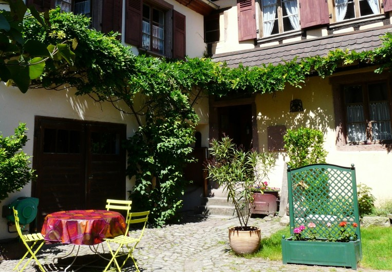 Location de vacances - Gîte à Ribeauville - Gîte Alsacien, Vous serez d'emblée sous le charme de l'endroit