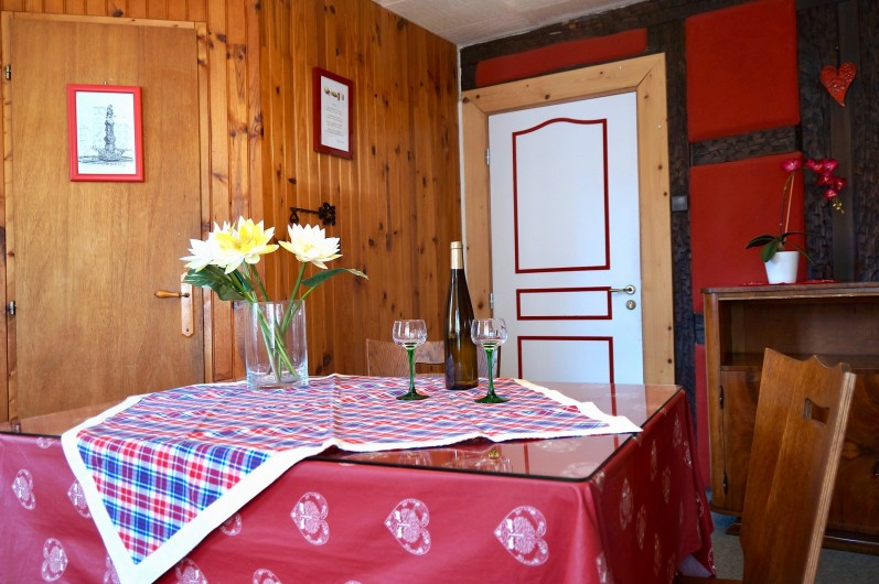 Location de vacances - Gîte à Ribeauville - Votre Gîte Intimiste et souriant