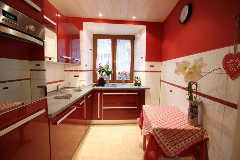Location de vacances - Gîte à Ribeauville - Lave vaisselle, four, grille- pain, cafetière, Frigo, congélateur....