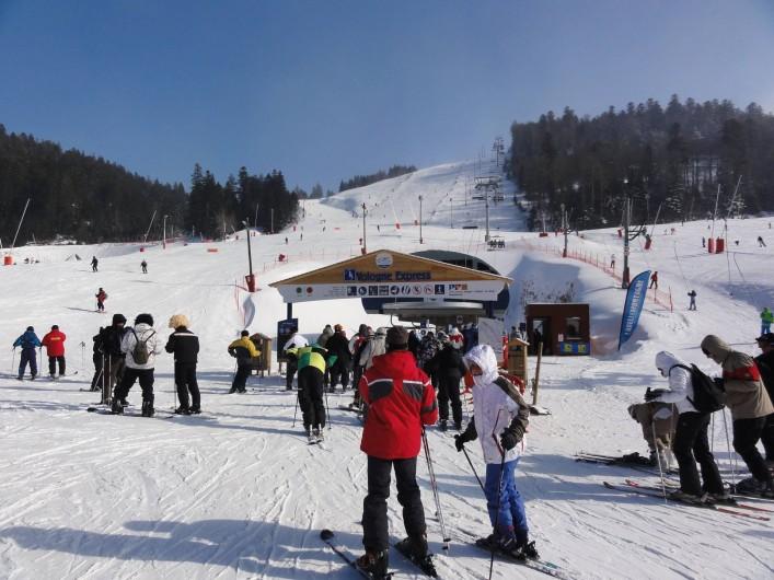 Location de vacances - Chalet à Basse-sur-le-Rupt - Ski alpin à la station La Bresse Hohneck