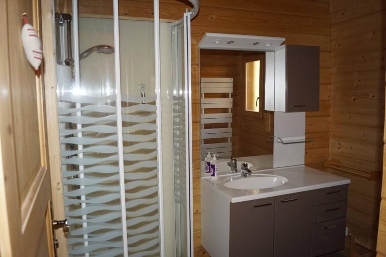 Location de vacances - Chalet à Basse-sur-le-Rupt - Salle de bain