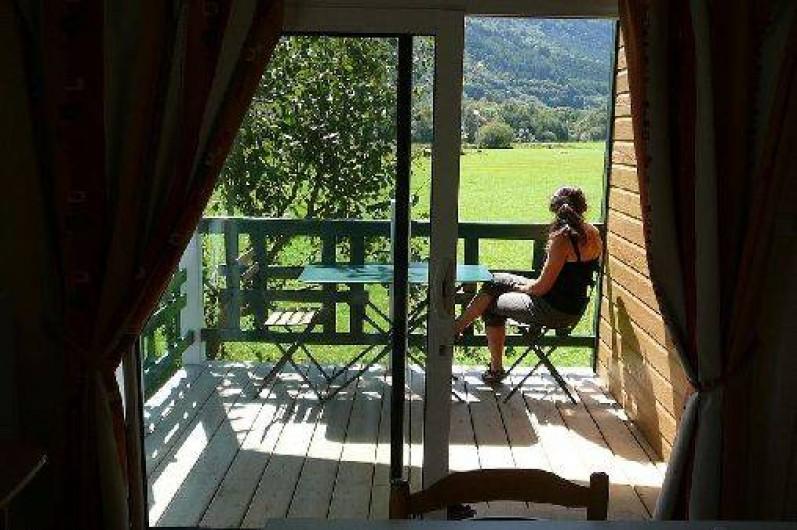 Location de vacances - Chalet à Aucun - Intérieur Chalet Azun Nature