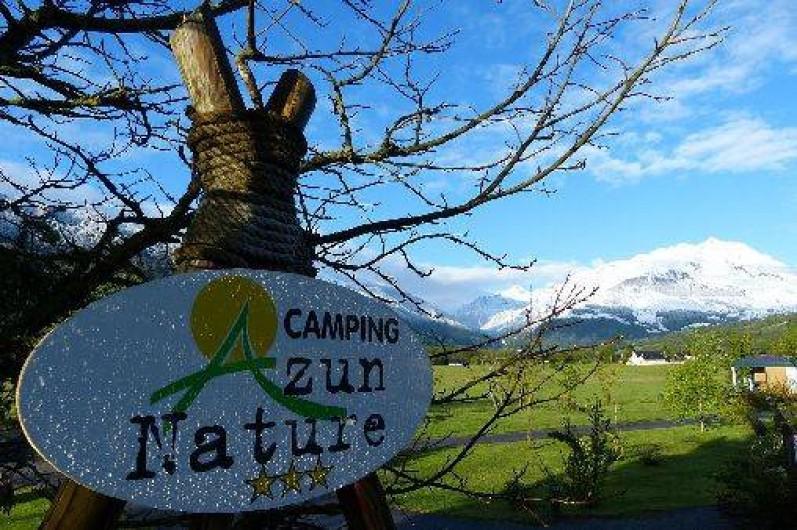Location de vacances - Chalet à Aucun - Camping Azun Nature
