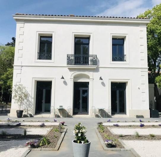 Location de vacances - Chambre d'hôtes à Frontignan - Façade de la maison