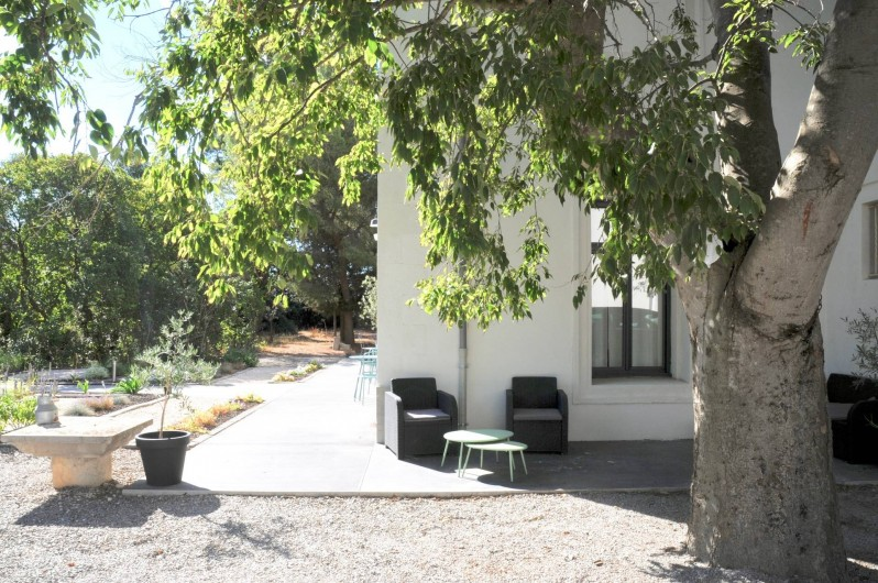 Location de vacances - Chambre d'hôtes à Frontignan - côté de la maison