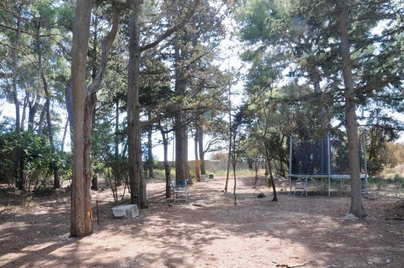 Location de vacances - Chambre d'hôtes à Frontignan - Parc avec trampoline