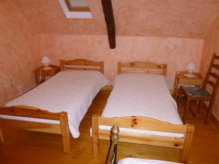 Location de vacances - Gîte à Auriac-du-Périgord - Chambre 2