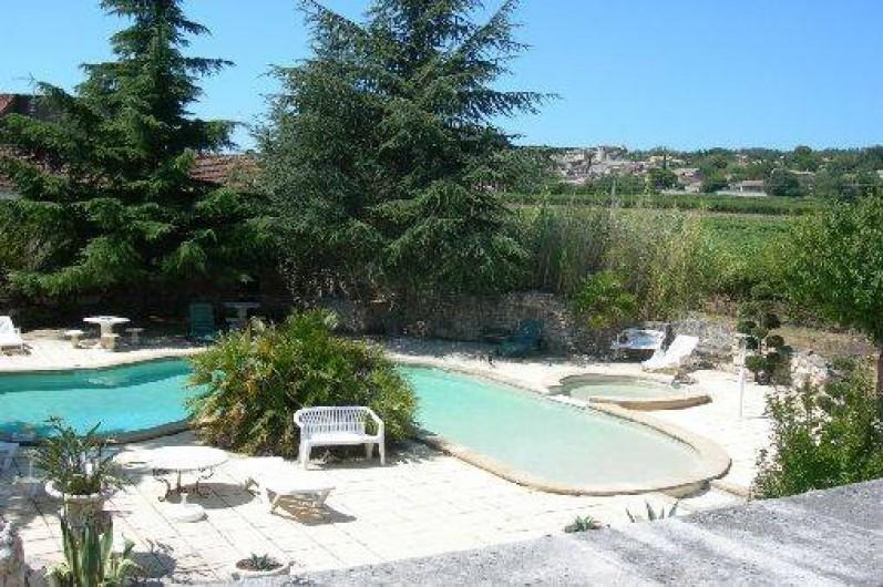 Location de vacances - Appartement à Saint-Julien-de-Peyrolas