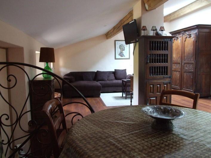 Location de vacances - Appartement à L'Albère - Le salon et la salle à manger
