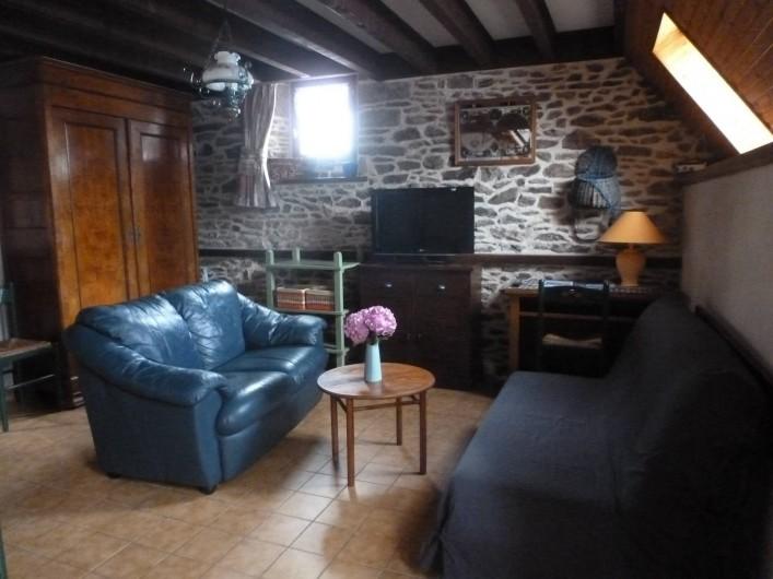 Location de vacances - Gîte à Châteauneuf-d'Ille-et-Vilaine - Salon