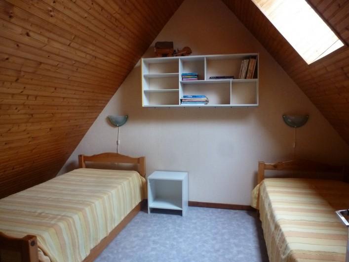 Location de vacances - Gîte à Châteauneuf-d'Ille-et-Vilaine - La chambre double