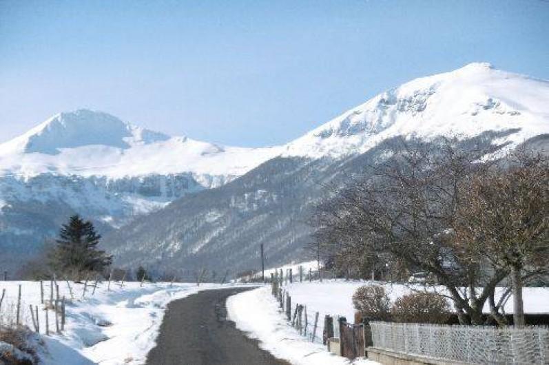 Location de vacances - Gîte à Le Claux - Vue sur Puy-Mary